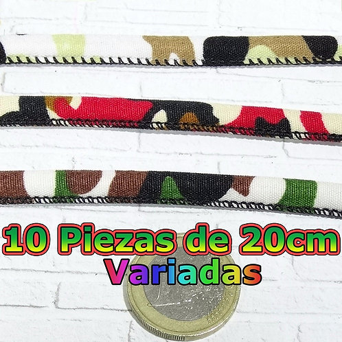 2 Metros Cordón Para Pulseras 8x5mm A801