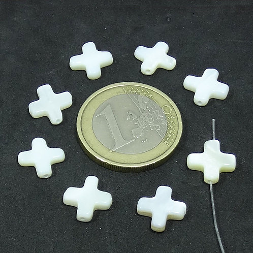38 Abalorios Cruces 10mm T595F