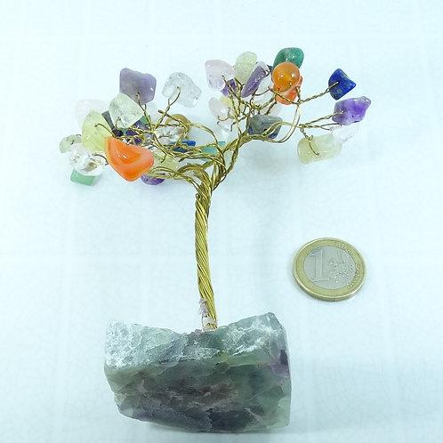 1 Árbol Con Piedras Naturales