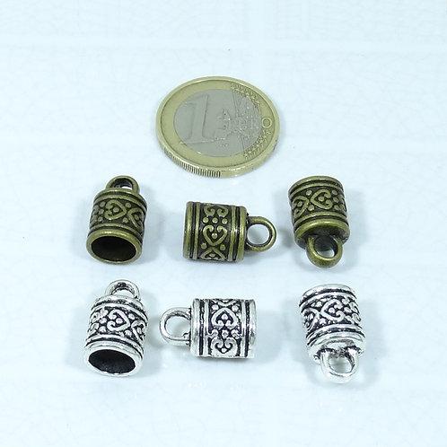 17-18 Terminales Para Cuero 16x10mm