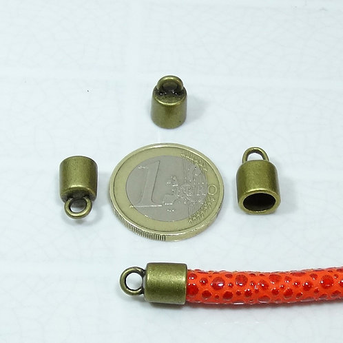 32 Terminales Para Cuero 14x9mm T441