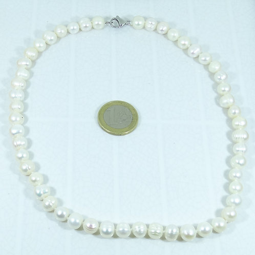 Collar de Perlas de Río (Cultivadas) 48 cm P001