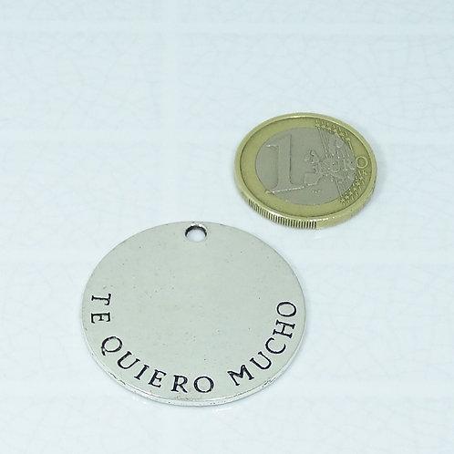 5 Colgantes Te Quiero Mucho 35mm T565X
