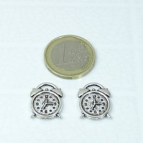 20 Colgantes Reloj 18x14mm T150C