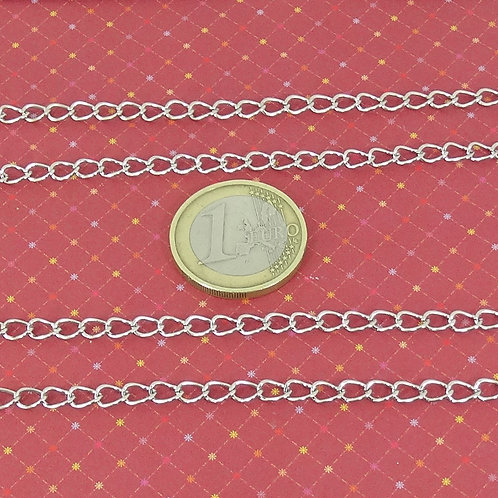 5 Metros Cadena Metálica 4mm  A101C