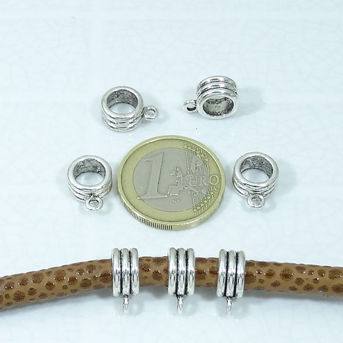 40 Enganches 13x5mm T323X