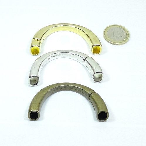 1 Pulsera Base Para Cuero Magnética 62x12mm
