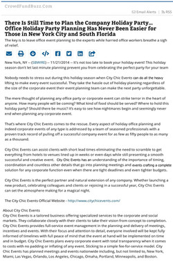 CCE Press Release