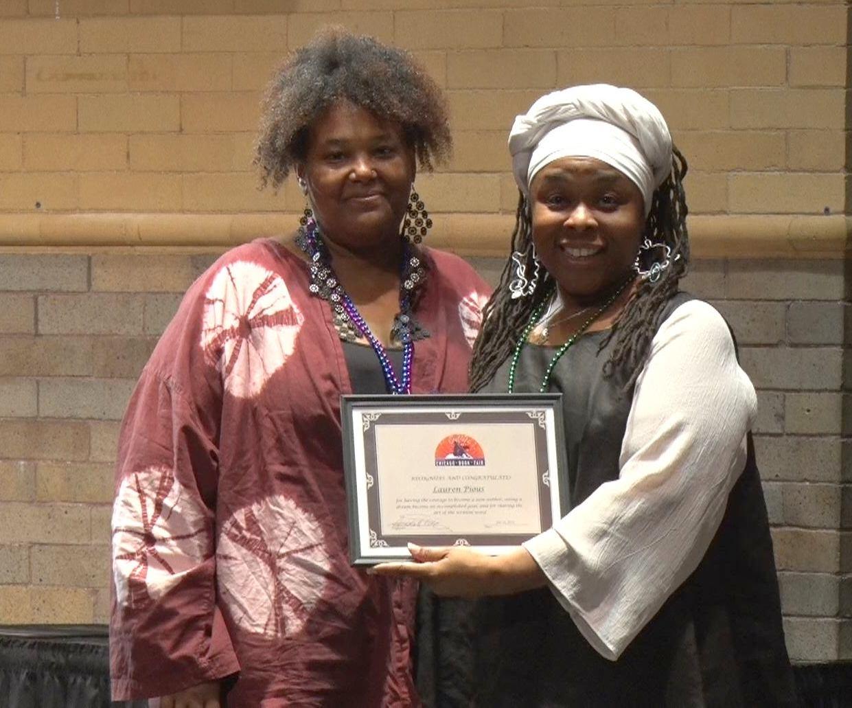 Lauren New Author Award