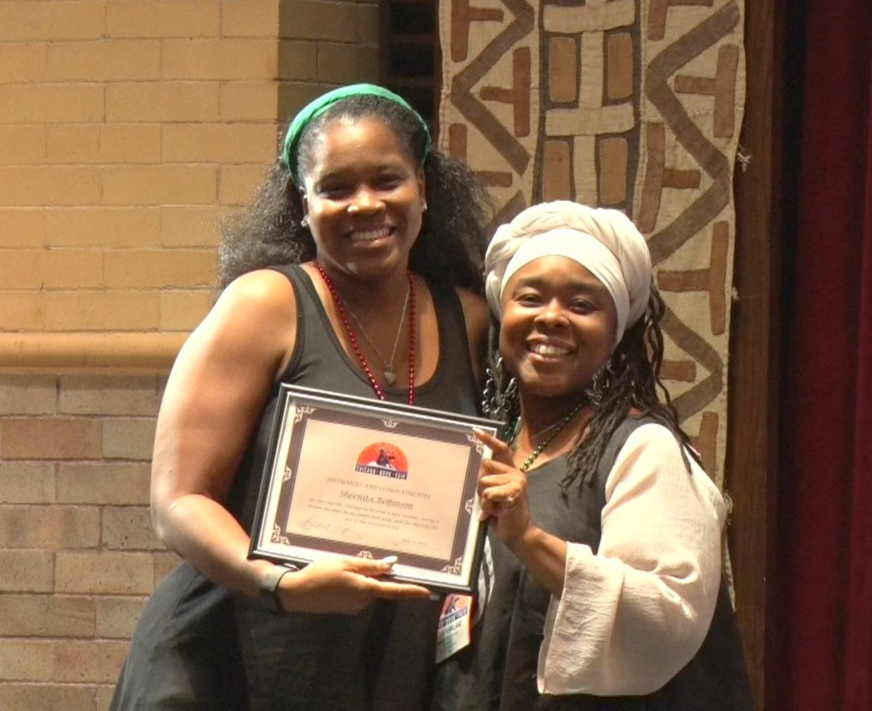 Sheenita New Author Award