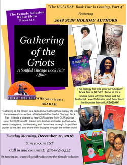 2018 GATHERING OF THE GRIOTS HOLIDAY FLY