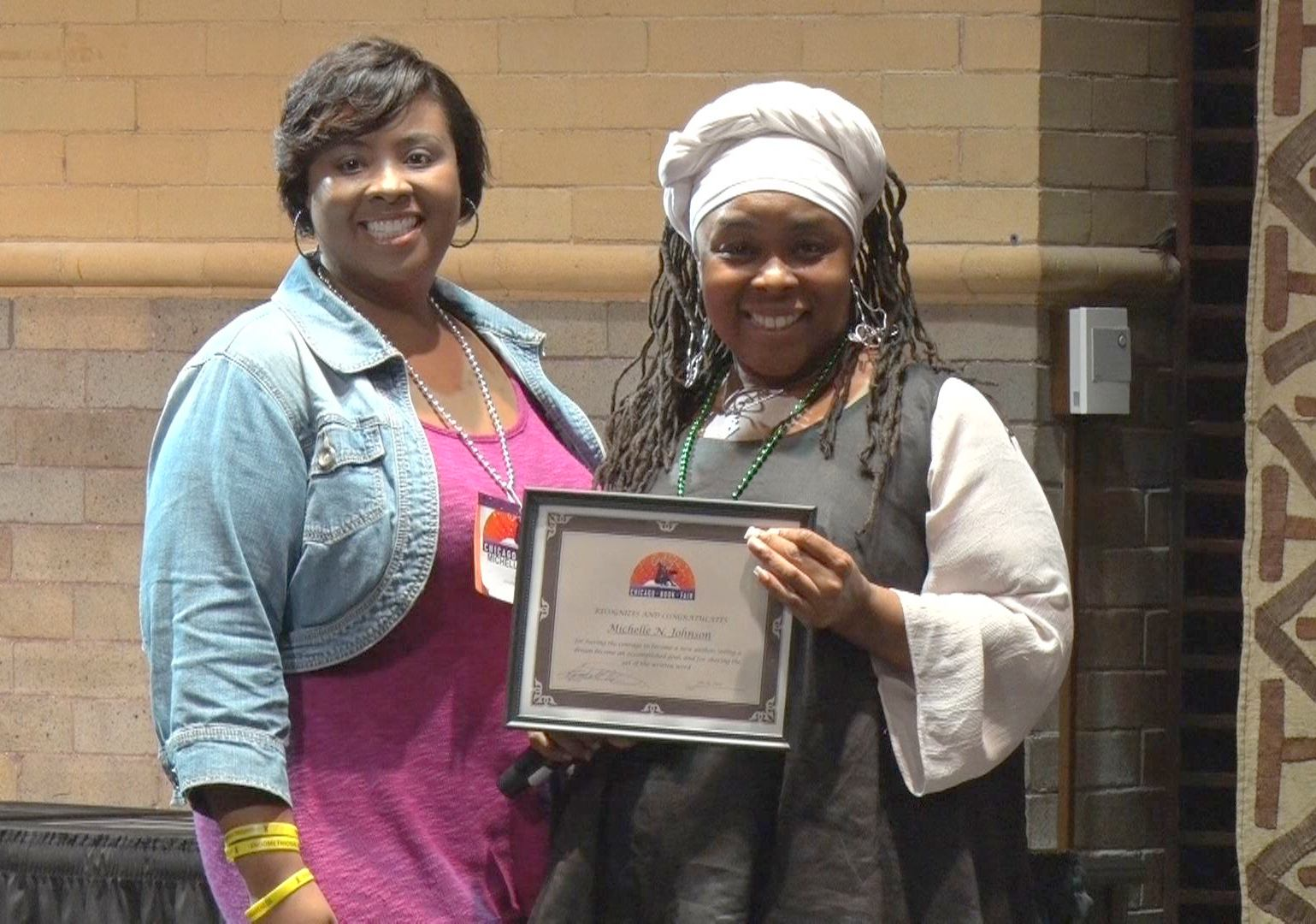 Michelle New Author Award