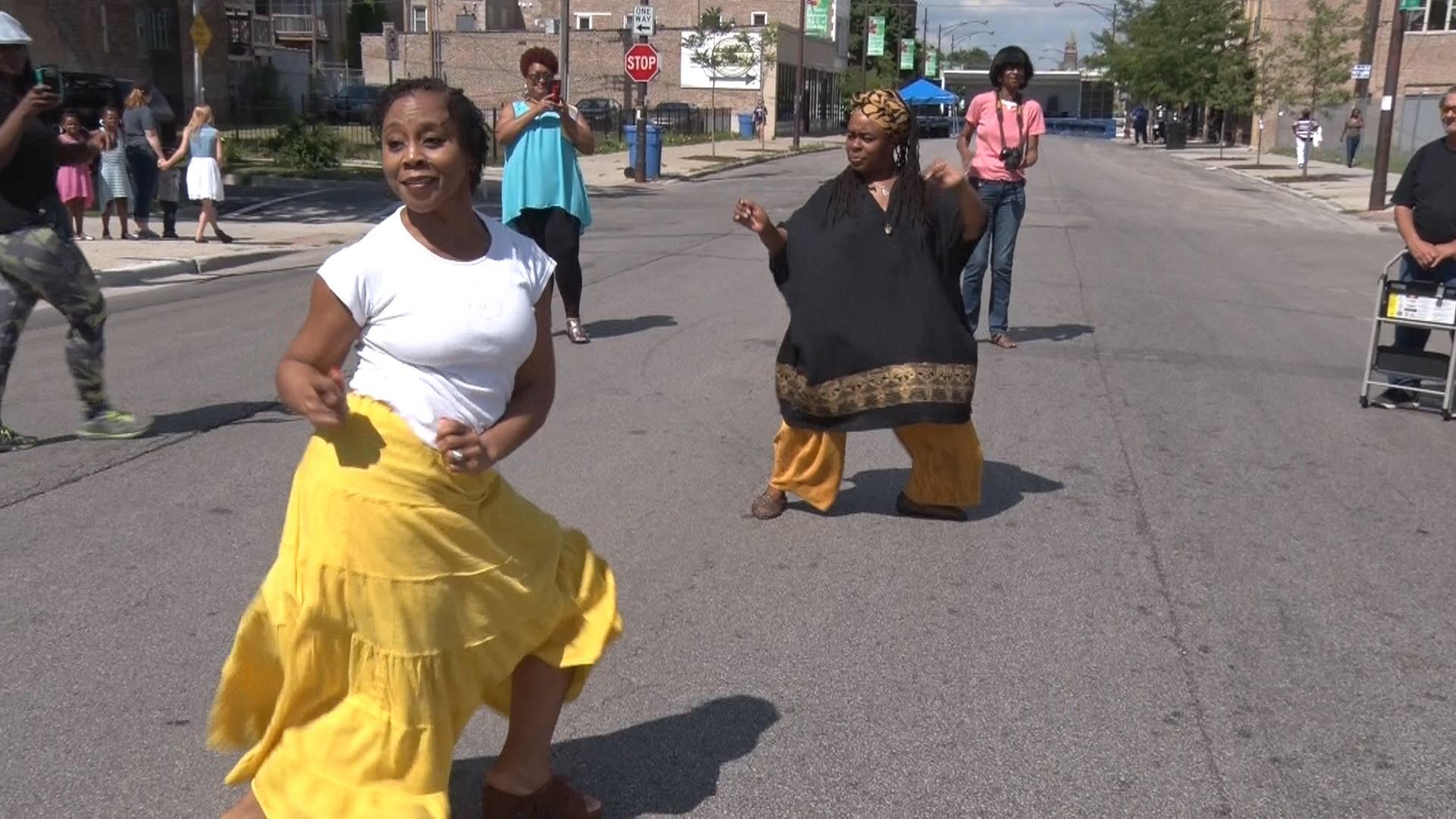 SCBF Elder Tribute Dancing