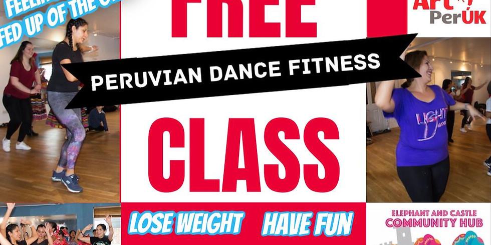 FREE Online Peruvian Dance class for Elephant & Castle Virtual Community Hub - 6th of February