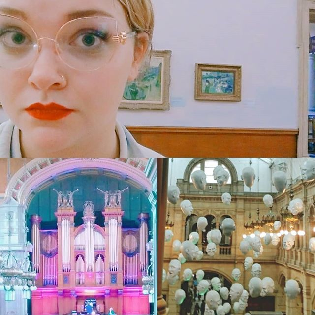I am my mother's daughter, so of course I spent my first day in Glasgow at museums and art galleries