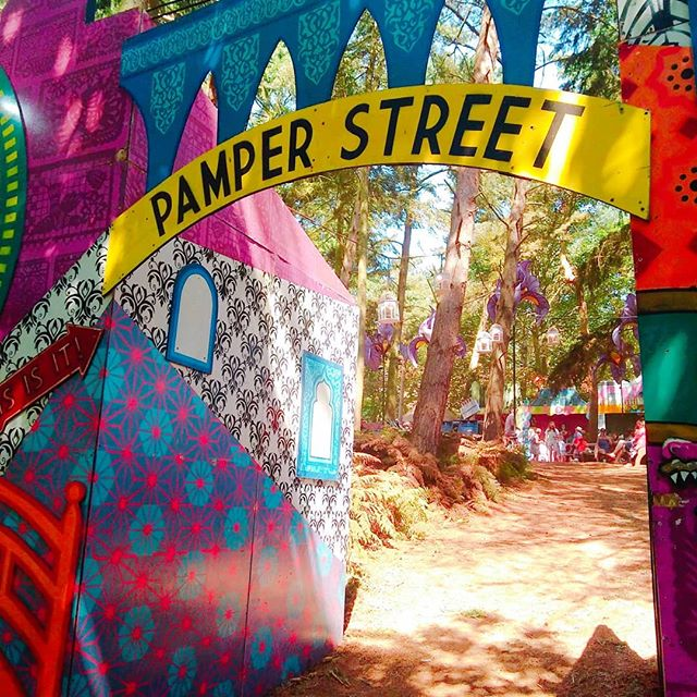 Welcome to Pamper Street at _latitudefest where there were many pampering stalls but also lovely couches at _bbcintroducing where I finished