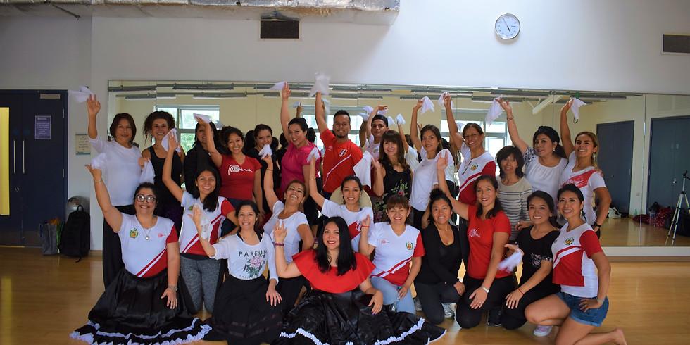 Marinera Dance Class