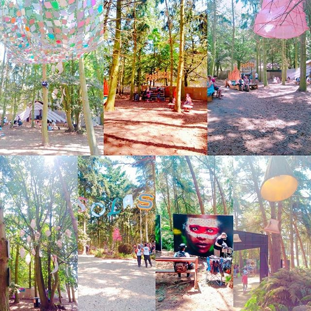 _latitudefest was incredible. So many gorgeous areas and installations among the trees. ._._