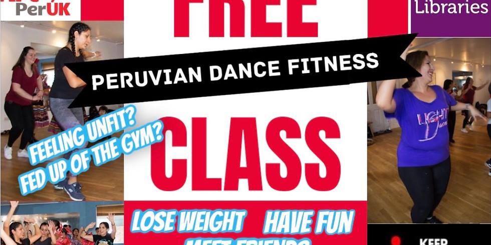 FREE Online Peruvian Dance class for Croydon Libraries  Community Hub -  20 of February