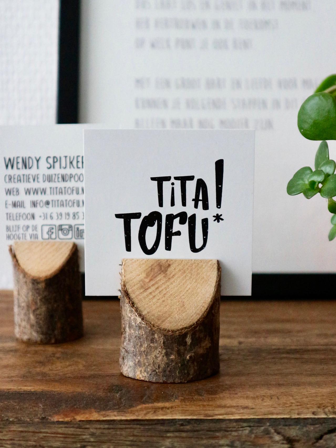 Visitekaartje Tita Tofu