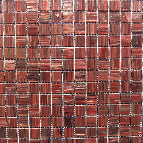 Designer 4mm Glass Mosaic GA45 20x20mm on a 327x327mm sheet