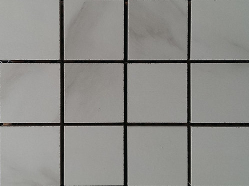 Calacatta Cararra Mosaic 48x48mm on a 298x298mm sheet