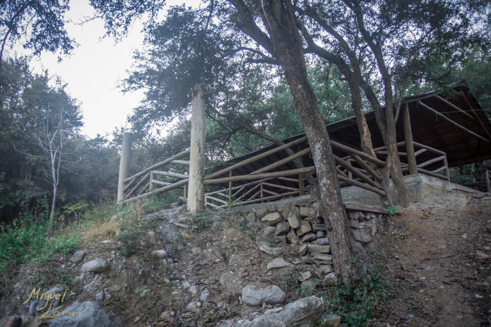 Cabaña en el Charco Azul