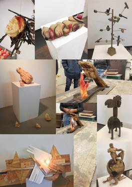 Wood Sculptures (8)