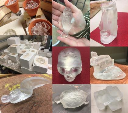 Glass Casting using a ceramic kiln (3)