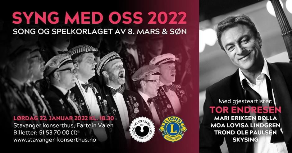 Syng med oss 2022 Stavanger konserthus