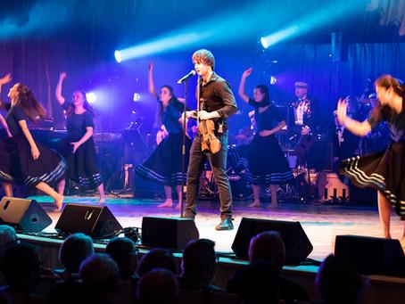 Flott konsert sammen med Lisa og Aleksander