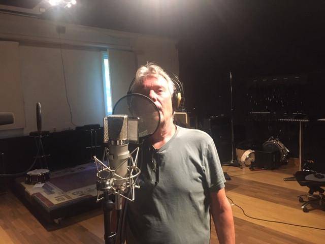Vi avsluttet innspilling i studio søndag kveld med alle solistene