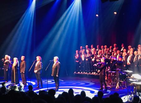 Fantastisk konsert med Hanne og tenorene i kuppelhallen