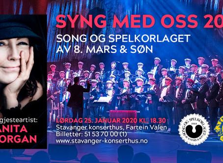 Song og Spelkorlaget og Lions klar for nytt Syng Med Oss i Stavanger Konserthus 25 januar 2020