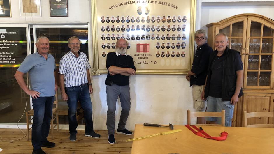 Nytt staselig medlemsgalleri avduket i Drøvelens hus