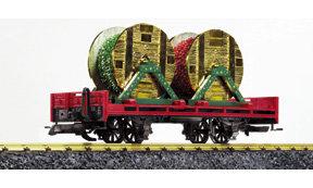 41023 Christmas Garland Car