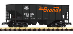 38845 D&RGW Rib-Side Hopper, #82682