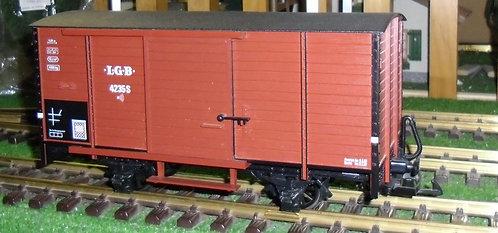4325 LGB Diesel Sound Boxcar