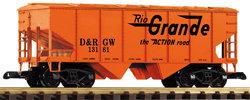 38869 D&RGW Covered Hopper, #13181