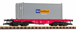 37727 NS VI Flat w/P&O/Nedlloyd 20' Container