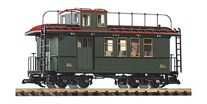 38634  WP&YR  Wood Drovers Caboose 211