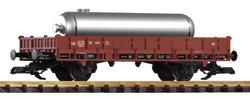 37934 DB III 2-Axle Flatcar w/LPG Tank Load