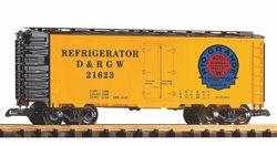 38826 D&RGW Steel Reefer, #21623, Moffat Logo