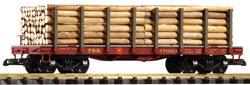38720 PRR Flatcar, #771923, w/log load