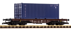 37728 CD VI Flat w/Intrans 20' Container