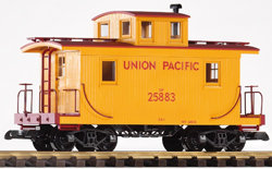 38830 UP Wood Caboose, #25883, Armour Yellow