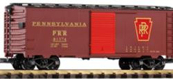 38825 PRR Steel Boxcar, New #81374, Tuscan