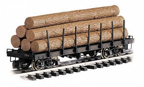 #98470 Flat Car with Logs