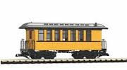 38600   D&RGW Wood Coach 306 Yellow