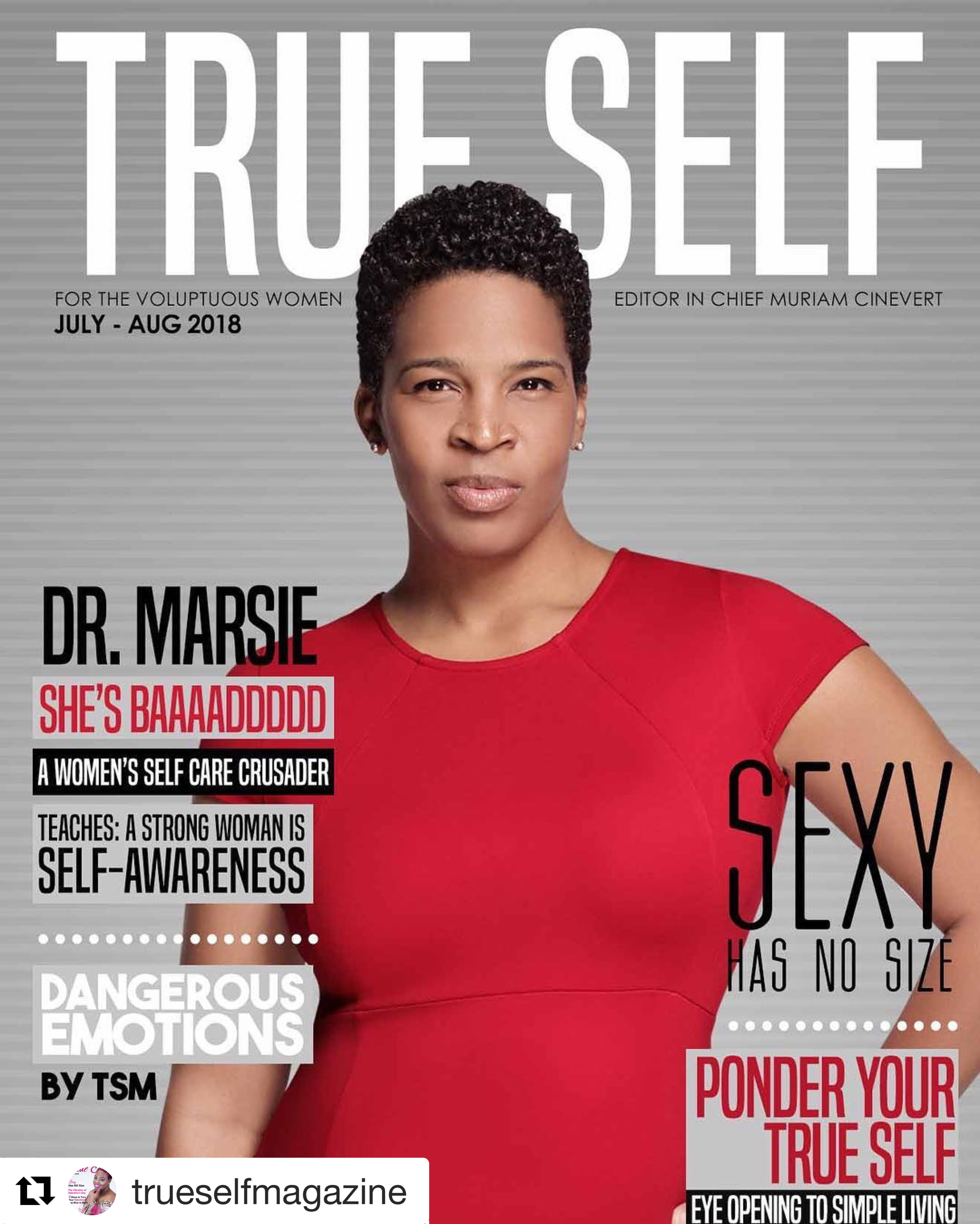 True Self Magazine Cover